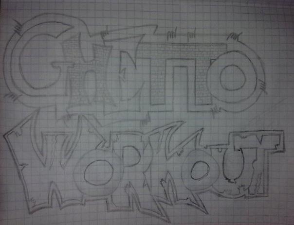 Ghetto Workout Graffity