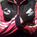 Чёрные перчатки GW